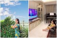 Căn hộ của Hoa hậu Lê Âu Ngân Anh: Rộng 280m2, góc bếp cực xịn sống ảo đẹp miễn chê