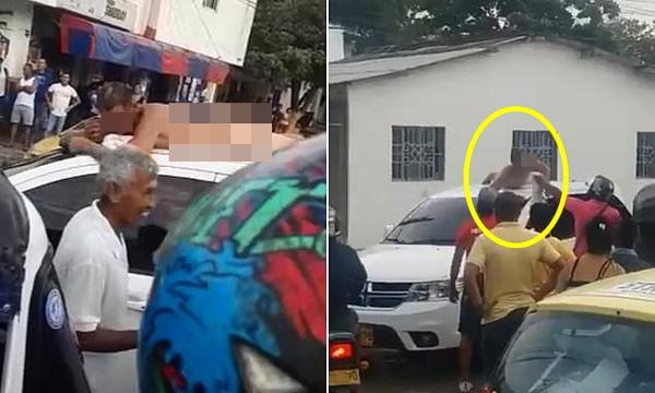 Người đàn ông khỏa thân nằm trên xe hơi do vợ cầm lái và câu chuyện đằng sau khiến người khiếp vía, người hả hê-1