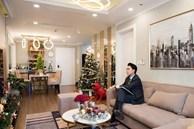 Căn hộ 'chanh sả' tưng bừng đón mừng Giáng sinh của chàng MC độc thân đất Hà Thành
