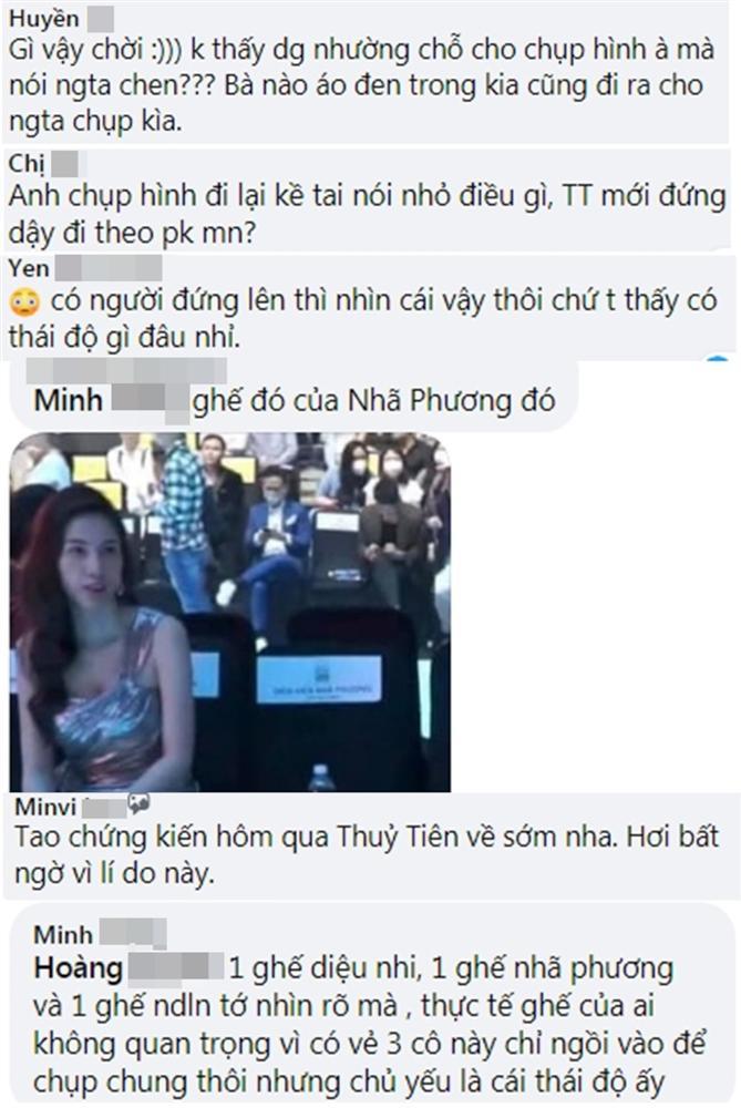 Fan tranh cãi clip Thủy Tiên bị Linh Chi hất tóc, đứng dậy bỏ đi: Lan Ngọc vô tình liên lụy?-7