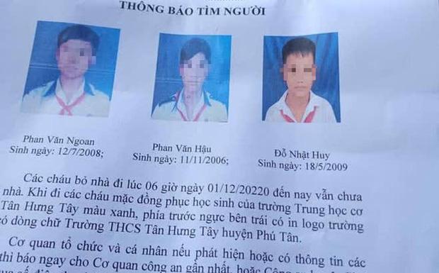 Ba bé trai từ 11-14 tuổi đạp xe hơn 300km lên TP.HCM tìm cha mẹ-1