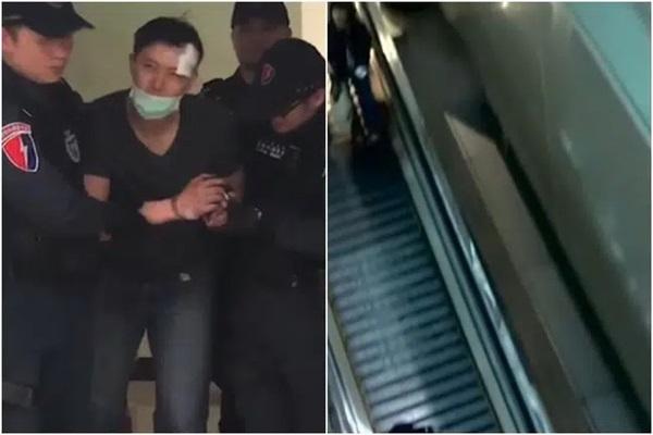 Cãi nhau inh ỏi ở sân bay, người đàn ông thẳng tay ném vợ từ tầng 4, diễn biến sau đó khiến người chứng kiến bàng hoàng-4