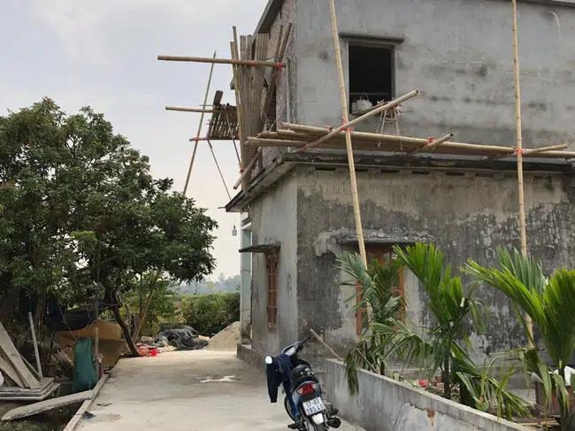 Thái Bình: Sập giàn giáo công trình đang xây dựng làm 2 người chết, 1 người nguy kịch-1