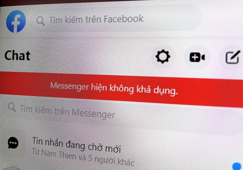 Facebook Messenger đang bị lỗi ở Việt Nam-1