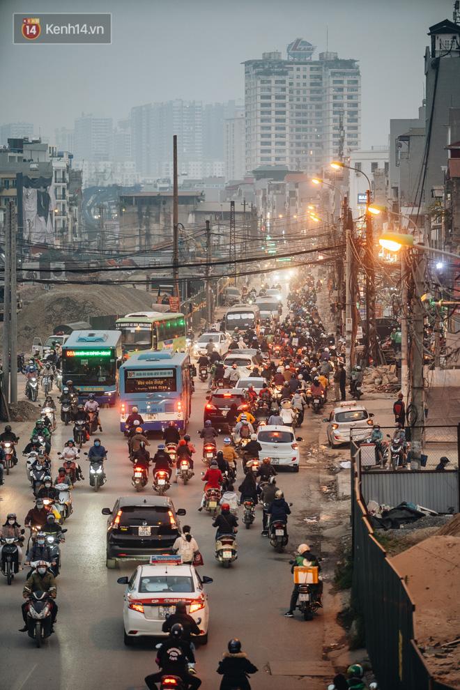 Chuyện ở Hà Nội: Ùn tắc không mất đi, nó chỉ chuyển từ đường này sang đường khác!-5