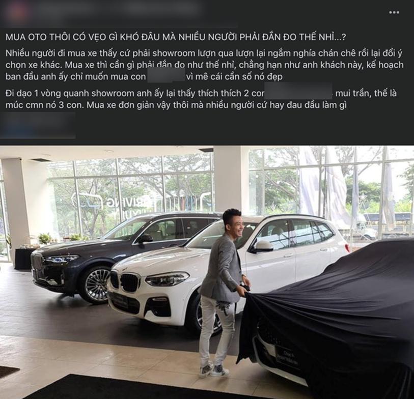Một người tiết lộ cách đại gia Minh Nhựa đi mua một lúc 3 chiếc xe ô tô hạng sang bằng cách nở nụ cười nhẹ như lông hồng, đẳng cấp đại gia chính là đây!?-1