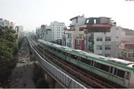 Video: Ngắm đoàn tàu lần đầu chạy thử toàn tuyến trên đường sắt Cát Linh-Hà Đông
