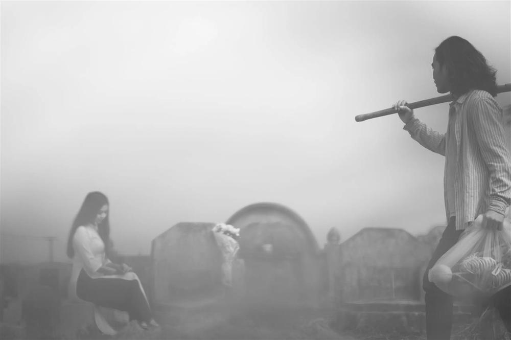 Bộ ảnh cưới kì dị ở nghĩa trang gây tranh cãi MXH: Hóa ra lại liên quan đến câu chuyện thật của nhân vật chính, nhan sắc cô dâu quá bất ngờ-3