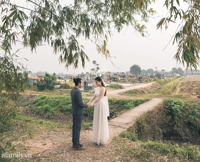 Bộ ảnh cưới kì dị ở nghĩa trang gây tranh cãi MXH: Hóa ra lại liên quan đến câu chuyện thật của nhân vật chính, nhan sắc cô dâu quá bất ngờ-14