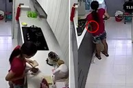 Đang chuẩn bị bữa sáng, nữ giúp việc cầm lát bánh mỳ đứng ra góc khuất và hành động tiếp theo khiến chủ nhà rùng mình chẳng dám ăn gì nữa