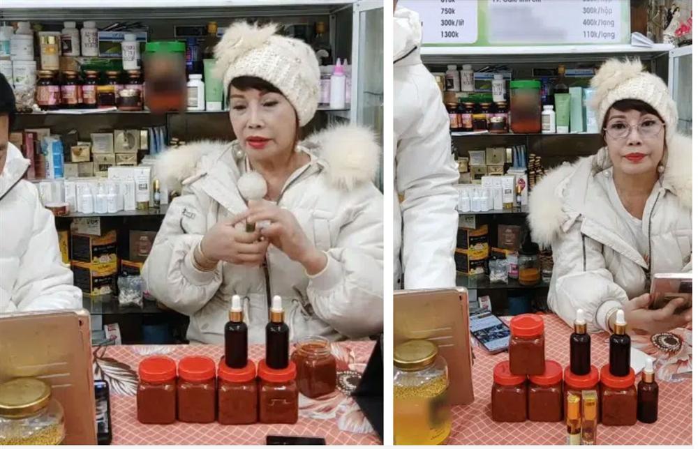 Cô dâu 63 tuổi tiếp tục xuất hiện trong livestream với khuôn mặt méo lệch, nhăn nhó sau đại phẫu căng da mặt hàng chục triệu khiến dân mạng hốt hoảng-2