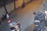 Xác định thanh niên đánh đập cô gái, dọa chém người can ngăn ở Sài Gòn