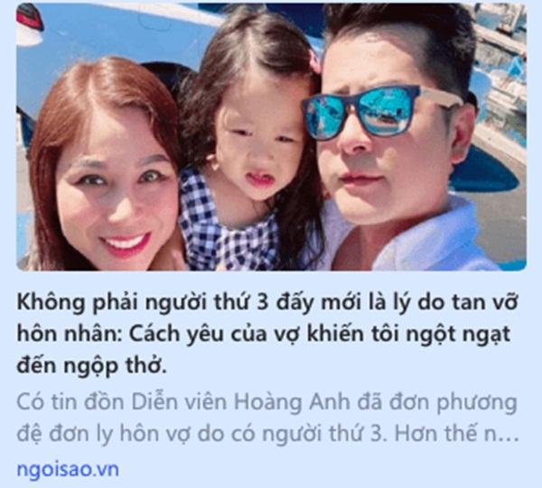 Chuyện hôn nhân diễn viên Hoàng Anh và Quỳnh Như: Kết thúc chóng vánh, nỗi đau thuộc về ai?!-6