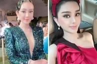 Đi đám cưới tình cũ Quý Bình, Lâm Khánh Chi thay tới 2 bộ váy cắt khoét hiểm hóc