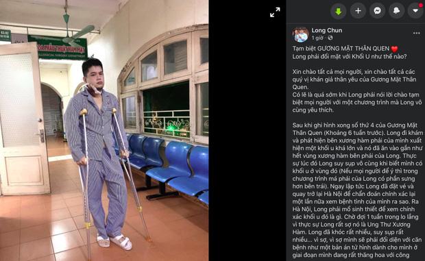Tìm hiểu về u men xương hàm - căn bệnh khiến Long Chun phải tạm gác mọi công việc để tập trung chữa chạy-1