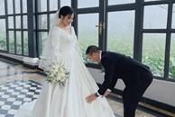 MC Nguyễn Hoàng Linh tung ảnh cưới, rộ tin đồn sắp lên xe hoa lần hai