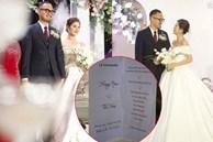 Thực đơn trong đám cưới của MC Thu Hoài có gì?
