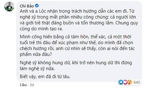 """Bức xúc trước việc nghệ sĩ tới xử lý"""" người livestream xúc phạm cố nghệ sĩ Chí Tài, Chi Bảo lên tiếng: Hung dữ thì đừng làm nghệ sĩ nữa""""-2"""
