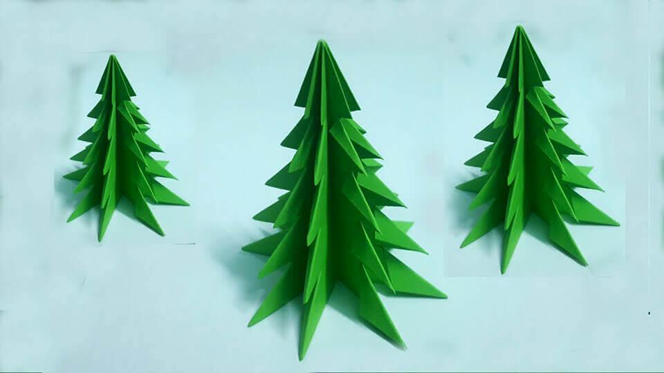 Mách bạn cách làm cây thông xinh lung linh đón Giáng sinh ý nghĩa và an lành-5
