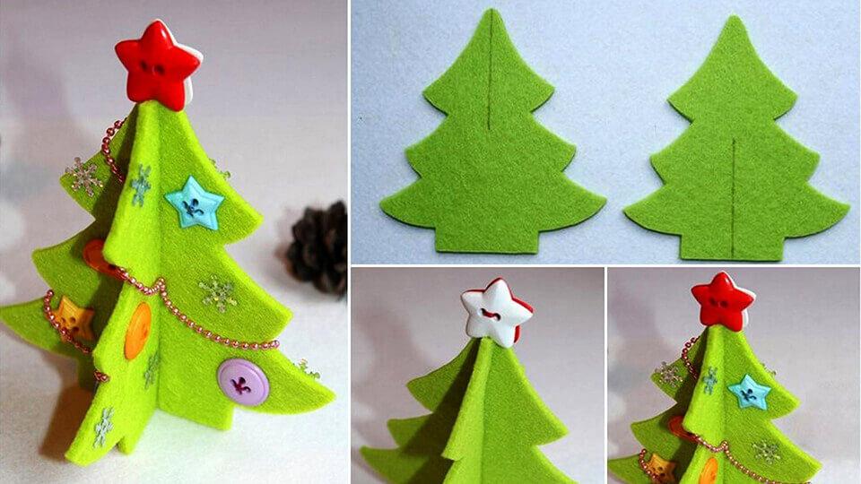 Mách bạn cách làm cây thông xinh lung linh đón Giáng sinh ý nghĩa và an lành-10