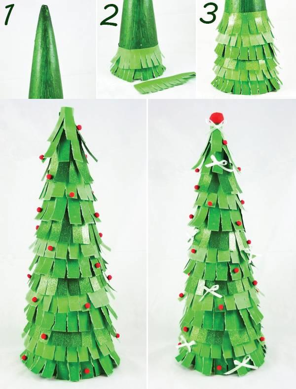 Mách bạn cách làm cây thông xinh lung linh đón Giáng sinh ý nghĩa và an lành-8