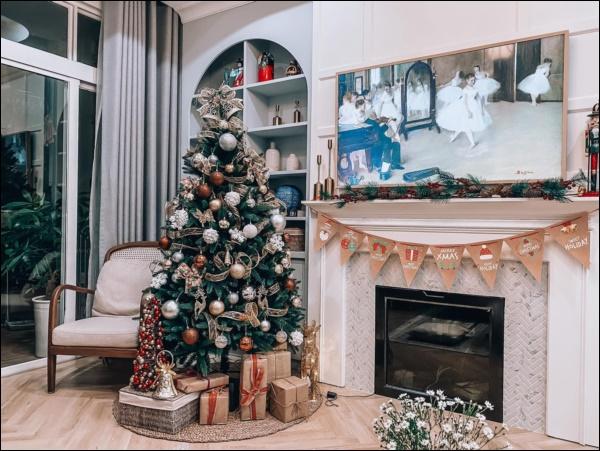 8 ý tưởng trang trí nhà cửa đẹp mê lycho ngày lễ Giáng sinh thêm an lành, ấm áp-4