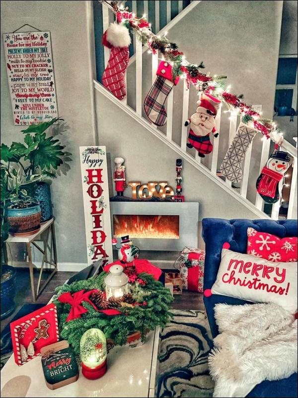 8 ý tưởng trang trí nhà cửa đẹp mê lycho ngày lễ Giáng sinh thêm an lành, ấm áp-5