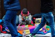 Người vô gia cư sống lay lắt giữa thủ đô London