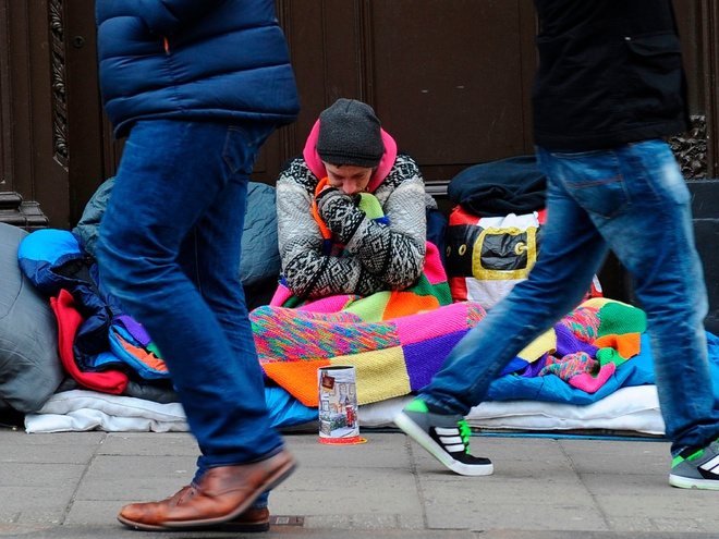 Người vô gia cư sống lay lắt giữa thủ đô London-1