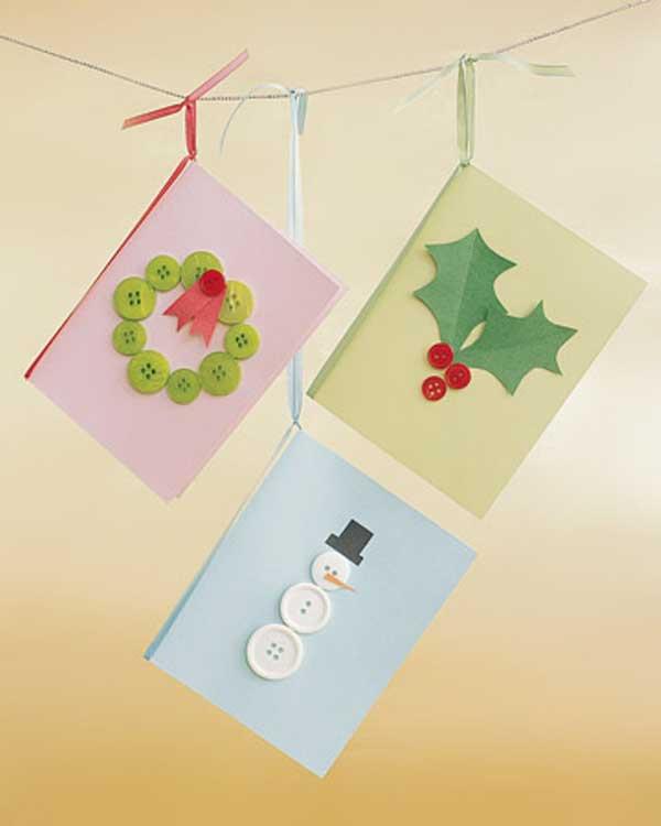 Những ý tưởng tuyệt vời để tự tay thiết kế một tấm thiệp Giáng sinh thật độc đáo và ý nghĩa gửi người thân yêu-3
