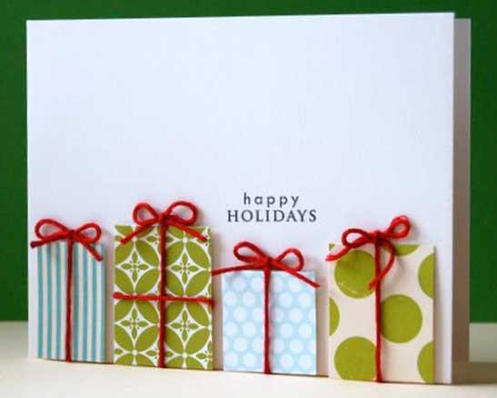 Những ý tưởng tuyệt vời để tự tay thiết kế một tấm thiệp Giáng sinh thật độc đáo và ý nghĩa gửi người thân yêu-6