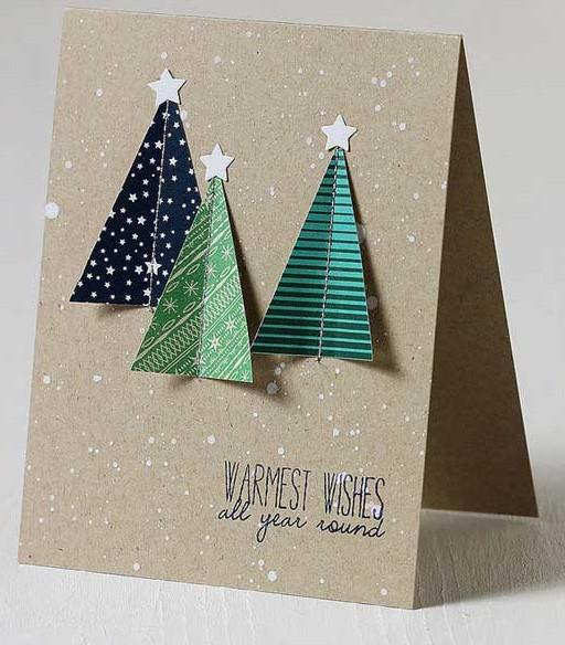 Những ý tưởng tuyệt vời để tự tay thiết kế một tấm thiệp Giáng sinh thật độc đáo và ý nghĩa gửi người thân yêu-12