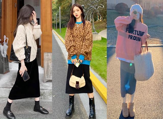 Cặp đôi áo len + chân váy: 5 quy tắc mix đồ giúp nàng công sở nhìn gọn dáng và sang chảnh từ đầu tới chân-1