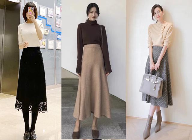 Cặp đôi áo len + chân váy: 5 quy tắc mix đồ giúp nàng công sở nhìn gọn dáng và sang chảnh từ đầu tới chân-2