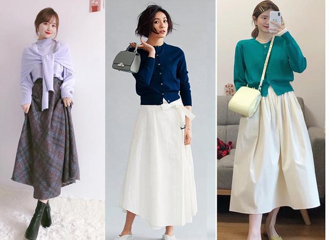 Cặp đôi áo len + chân váy: 5 quy tắc mix đồ giúp nàng công sở nhìn gọn dáng và sang chảnh từ đầu tới chân-3