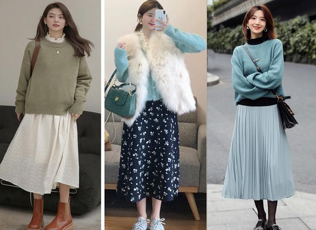 Cặp đôi áo len + chân váy: 5 quy tắc mix đồ giúp nàng công sở nhìn gọn dáng và sang chảnh từ đầu tới chân-4