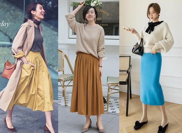 Cặp đôi áo len + chân váy: 5 quy tắc mix đồ giúp nàng công sở nhìn gọn dáng và sang chảnh từ đầu tới chân-5