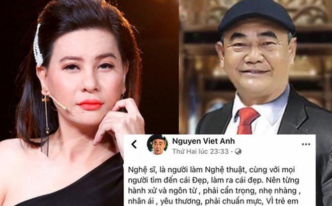 Cát Phượng xin lỗi NSND Việt Anh: Mong a hiểu và bỏ qua. Em xin lỗi anh!-1