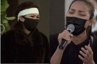 Hồng Ngọc hát Cát Bụi tiễn biệt cố nghệ sĩ Chí Tài, Phương Loan khóc nấc không kìm được nước mắt