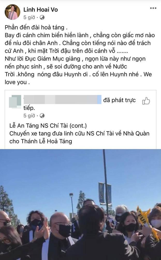 Theo dõi loạt động thái của NS Hoài Linh suốt lễ an táng cố NS Chí Tài mới thấy tình anh em sâu đậm đến cỡ nào-3