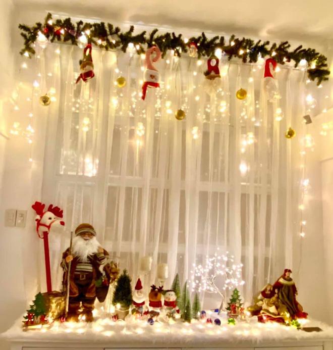 """Biệt thự 12 tỷ của Thúy Hạnh lên đèn đón Giáng sinh: Lộng lẫy và toàn góc sống ảo"""" như quán cafe, dàn sao Vbiz phải trầm trồ-7"""