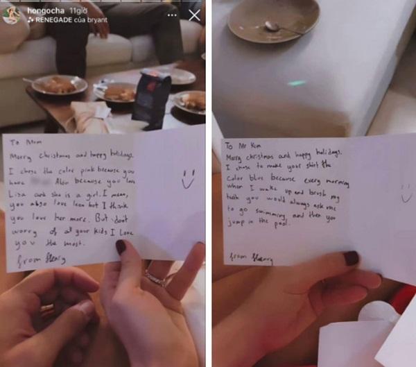 Hậu trường Subeo nấu ăn và chuẩn bị tiệc Noel cho cả nhà, đọc đến lời chúc bà ngoại là biết cậu bé hiểu chuyện thế nào!-4