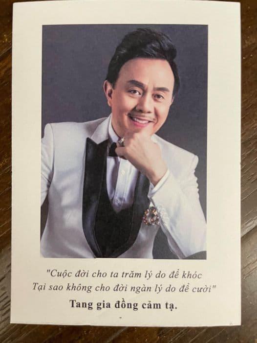 Sau tang lễ, anh trai cố nghệ sĩ Chí Tài chính thức thông báo về việc ngừng nhận tiền gây quỹ miền Trung-5
