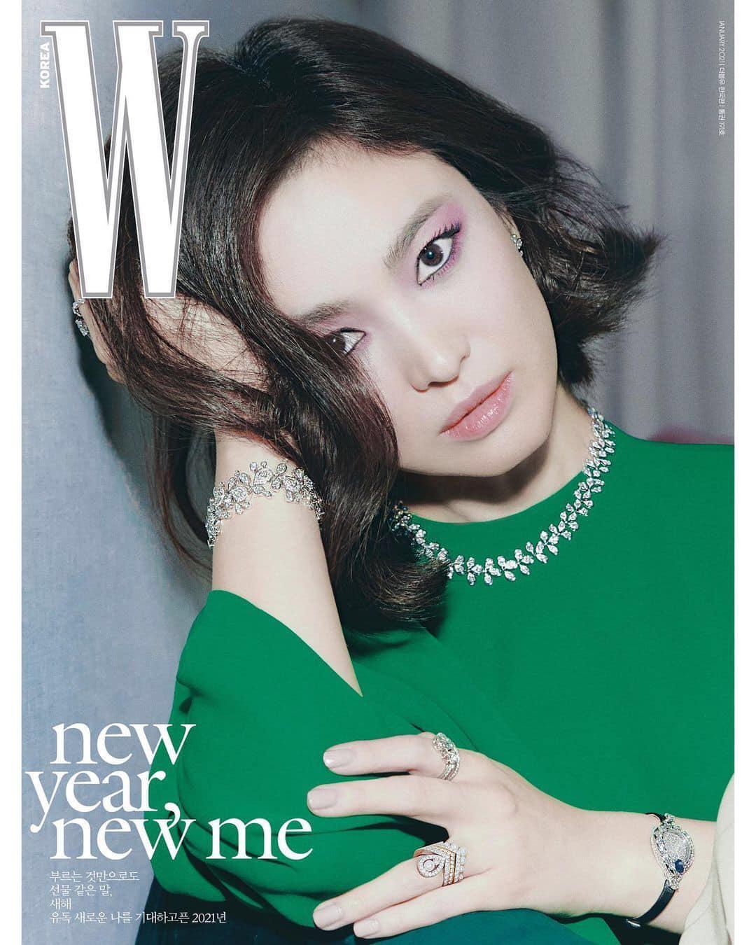 Bài phỏng vấn gây sốt của Song Hye Kyo: Lần đầu công khai nói về cuộc sống hậu ly hôn, dũng cảm nhắc tới tình yêu sau khi Song Joong Ki rời đi-2