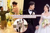 Fan tranh cãi khi Quý Bình quỳ gối sai cách khi cầu hôn bà xã: 'Quỳ 2 chân, mất mặt đàn ông'