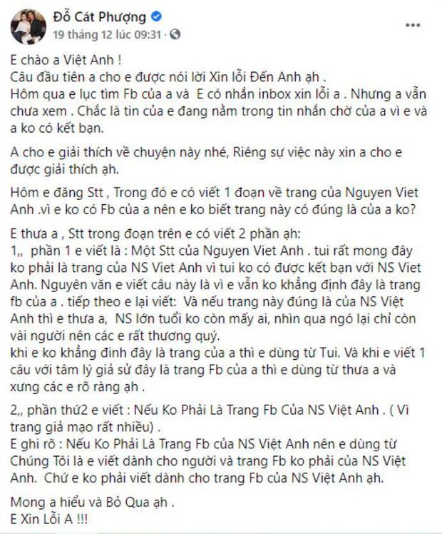 4 lần Cát Phượng vạ miệng trên MXH: Phản pháo NSND Việt Anh, gây phẫn nộ khi nói về Minh Béo và lời thề liên quan đến An Nguy-3