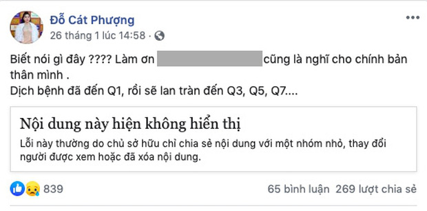 4 lần Cát Phượng vạ miệng trên MXH: Phản pháo NSND Việt Anh, gây phẫn nộ khi nói về Minh Béo và lời thề liên quan đến An Nguy-6