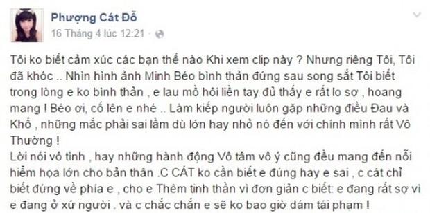 4 lần Cát Phượng vạ miệng trên MXH: Phản pháo NSND Việt Anh, gây phẫn nộ khi nói về Minh Béo và lời thề liên quan đến An Nguy-7