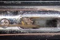 Video: Cận cảnh quá trình vệ sinh iPhone dưới góc nhìn kính hiển vi