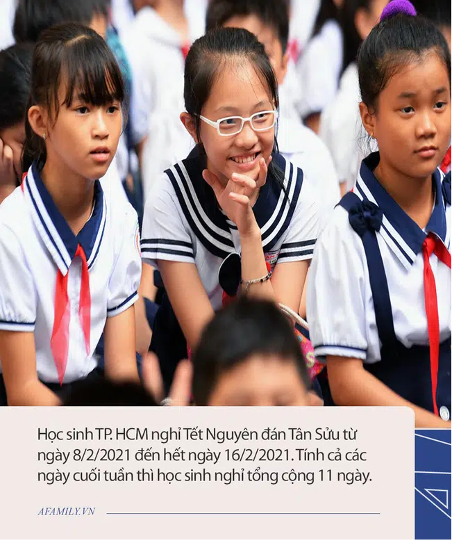 Mới: 23 tỉnh thành thông báo lịch nghỉ Tết Nguyên đán Tân Sửu của học sinh, có nơi cho nghỉ đến 2 tuần-2